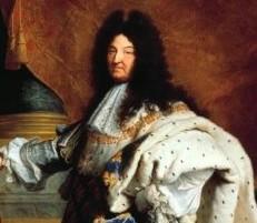 Le portrait de Louis XIV...